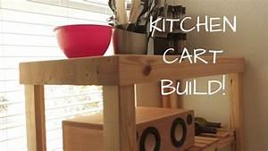 diy, kitchen, cart, -, build, video