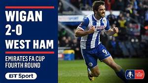 Emirates FA Cup Highlights: Wigan Athletic 2-0 West Ham ...