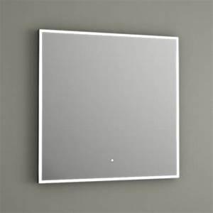 Miroir Lumineux Led : miroir lumineux led salle de bain anti bu e 60x60 cm ~ Edinachiropracticcenter.com Idées de Décoration