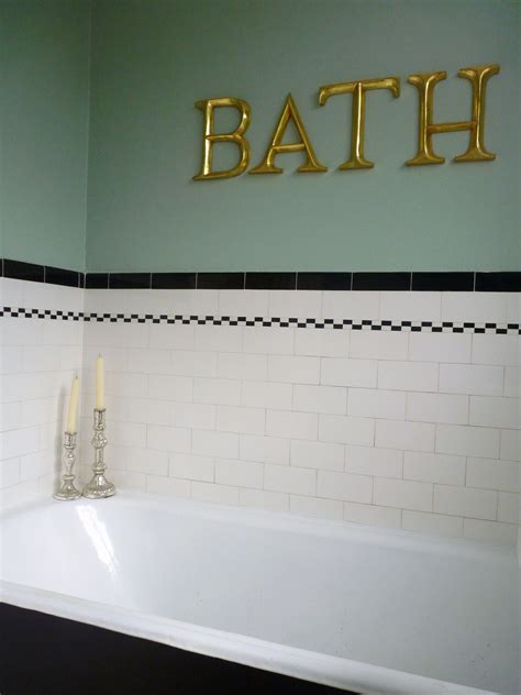 1930s Bathroom Tiles by Original 1930s Bathroom Wish We Had Half Tiled Walls To