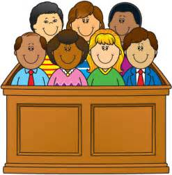7th Amendment Jury Clip Art