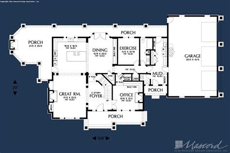 Country House Plan 2386 The Vicksburg: 3936 Sqft 4 Beds