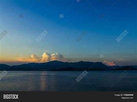 hong kong sunset image photo  trial bigstock