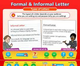 formal and informal letters examples