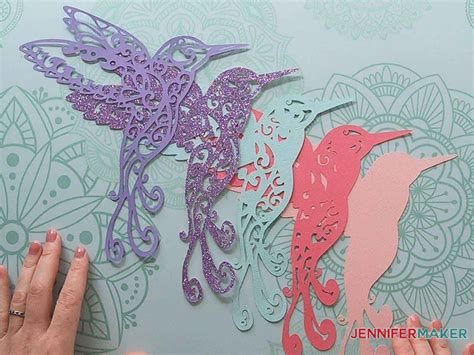 Have you seen the beautiful layered shadow boxes? Hummingbird SVG: Make a 3D Layered Design With Your Cricut ...