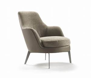 GUSCIO SOFT ARMCHAIR - Lounge chairs from Flexform