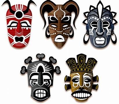 Masks Voodoo African Tribe Africa Orleans Mask
