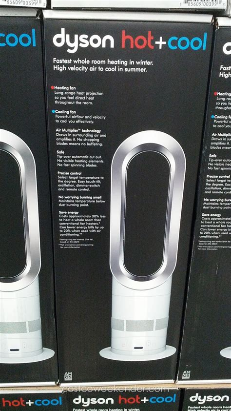 dyson heat and cool fan dyson cool am05 bladeless heater and fan costco