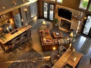 99, Rustic, Lake, House, Decorating, Ideas, 25
