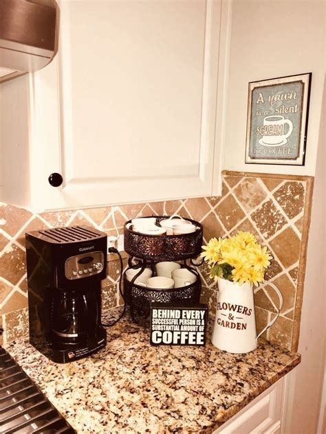 Tired of having no way to display your wine and liquor collection? Coffee Corner Ideas Small Spaces Cozy Nook - Coffee Nook Ideas Cozy Corner | 1000 in 2020 | Diy ...