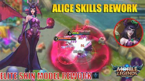 Queen Of The Apocalypse Alice Revamp And Elite Skin Model