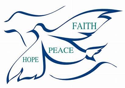 Faith Clip Clipart Christian Hope Peace Cliparts