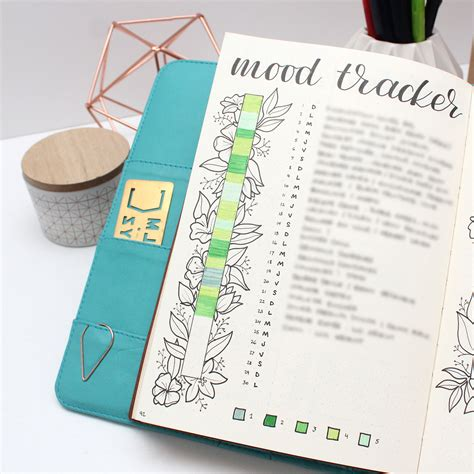 Mood Tracker Journal Ideas