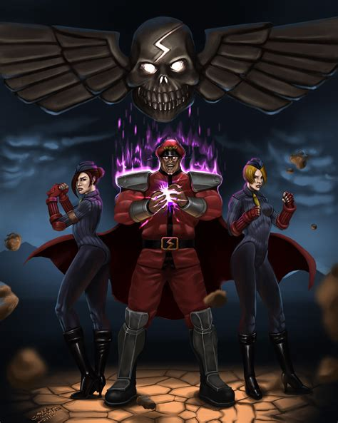 M Bison And Shadaloo Favourites By Codeyellow07 On Deviantart