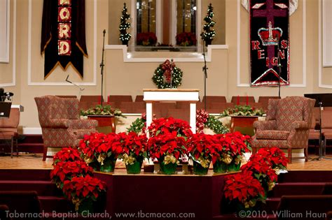 church christmas decorations tabernacle baptist church