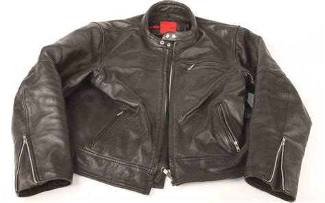 Davida Black Leather Jacket