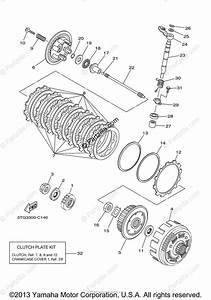 Yamaha Atv 2008 Oem Parts Diagram For Clutch