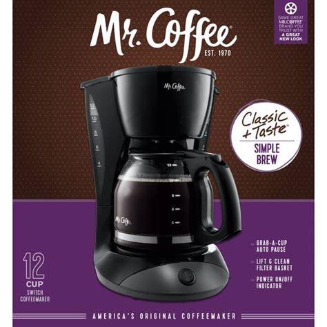 Coffee easy measure coffee maker and the mr. Mr. Coffee 12 Cup Coffee Maker - DW13-RB | Blain's Farm & Fleet