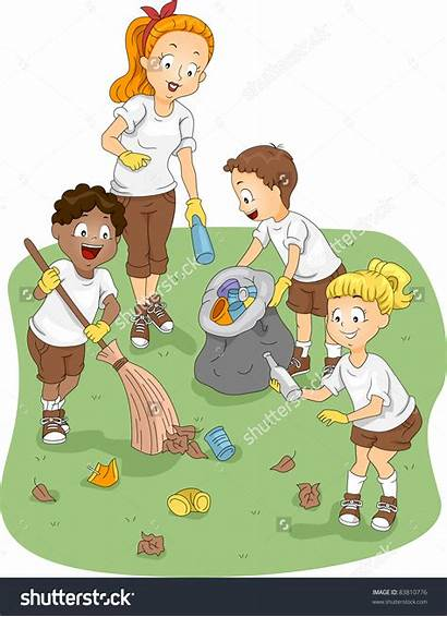 Cleaning Clipart Clip Environment Children Clipground Weight