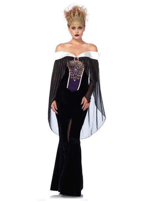 bewitching evil queen women costume disney costumes