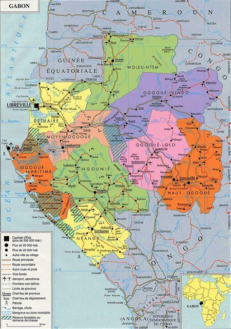 Gabon – administrative – PopulationData.net