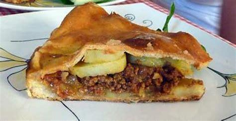 recette de tourte pomme de terre viande hach 233 e