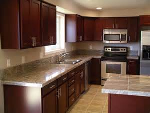 Kitchen Cabinet Hardware Placement Options by Cherry Kitchen Cabinets For More Beautiful Workspace