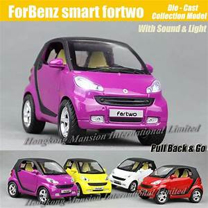1 32 Scale Diecast Alloy Metal Car Model For Forbenz Smart