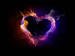 Fire Heart Love HD Wallpaper 1080p | Hd Wallpaper