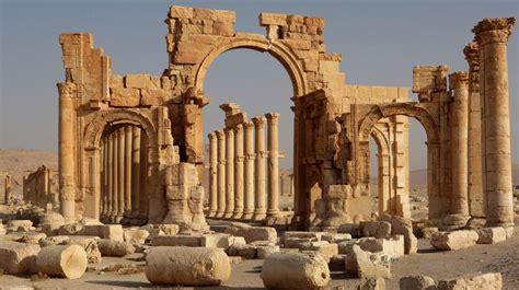 site du si e syrie palmyre un joyau antique abîmé par la guerre