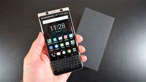 blackberry keyone unboxing review youtube