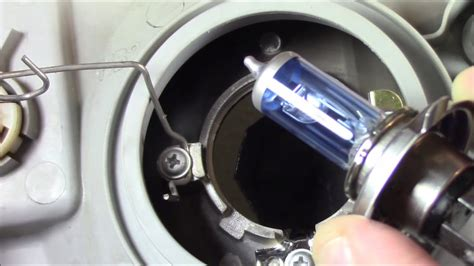 hyundai accent headlight lamp removalreplacement