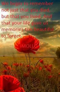 Remembrance Say... Remembrance Short Quotes