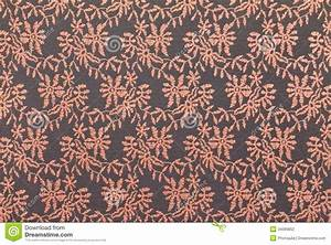 Pink Lace Over Black Background. Stock Photography - Image ...