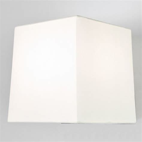 white square l shade bedside wall light with built in led reading light in matt