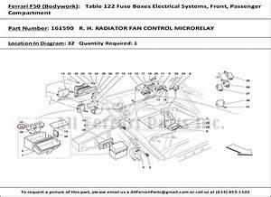 2003 Maserati Coupe Fuse Box