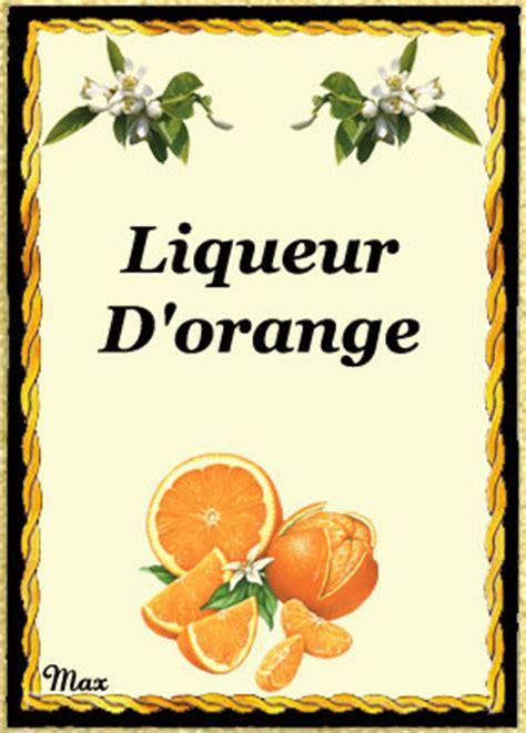 vin d orange maison modele etiquette vin orange