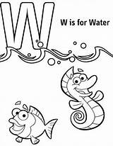 Coloring Pages Letter Save Electricity Water Getcolorings Printable sketch template