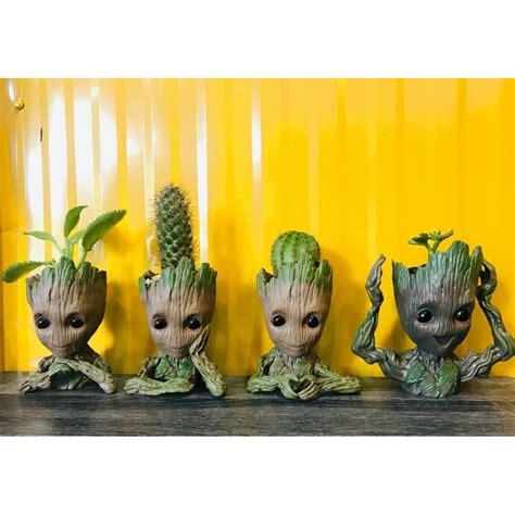🌵พร้อมส่ง🌵 5 แบบ กระถางต้นไม้ Groot BABY GROOT กระถางแค ...
