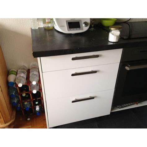 meuble bas cuisine 3 tiroirs pieds meuble ikea clasf