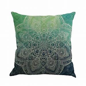 new indian mandala bohemian pillow case cover elephant With sofa cushion covers india