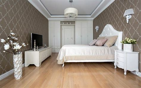 Bedroom Decor Ideas With Brown Furniture by Classic Bedroom Ideas Combination Of White Furniture And