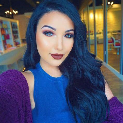 The 25 Best Midnight Blue Hair Ideas On Pinterest Dark