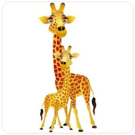chambre bebe savane sticker girafes un autocollant savane pour chambre enfant
