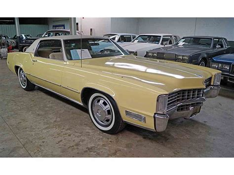 1968 Cadillac Eldorado For Sale by 1968 Cadillac Eldorado For Sale Classiccars Cc 947586