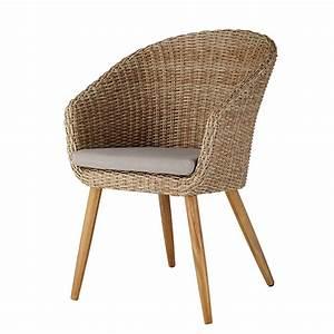 Chaise De Jardin En Resine : chaise de jardin en r sine tress e et acacia massif kuta ~ Farleysfitness.com Idées de Décoration