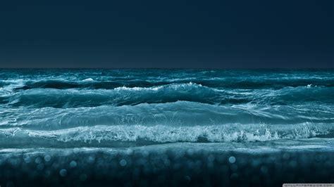 sea  night  hd desktop wallpaper   ultra hd tv