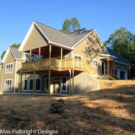 Hillside Lake House Plans 100 Hillside Walkout Basement