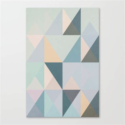 The Nordic Way Xxxi Canvas Print By Metron Society6