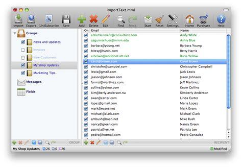 Mac Mass Mailer Mass Mailing For Mac